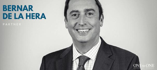 BERNAR DE LA HERA m&a sector tic partner ONEtoONE