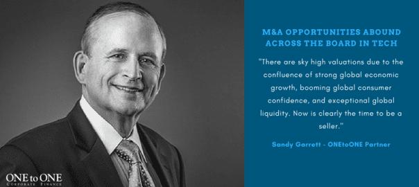 Sandy Garrett: M&A Opportunities Abound Across the Board in Tech