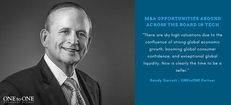 Sandy Garrett: M&A Opportunities Abound Across the Board in Tech