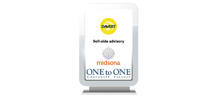 New M&A transaction advised: Midsona acquires Davert